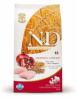 N&d low grain adult mediu pui si rodie 12kg
