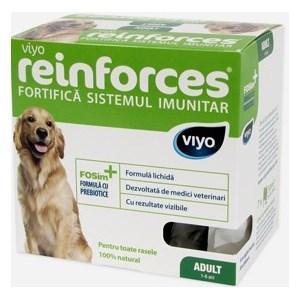 Reinforces intărirea sistemului imunitar pt caini seniori 7x30ml