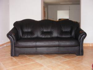 Canapea extensibila LUXEN din piele naturala