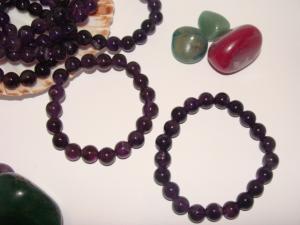 Bratari ametist (pietre semipretioase)