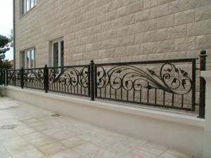 Gard fier forjat - model Elegance