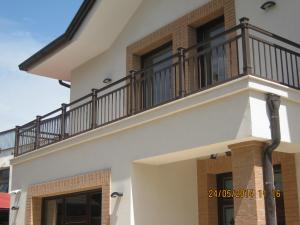 Balustrada exterior fier forjat