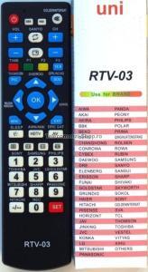 Telecomanda universala LCD RTV-03