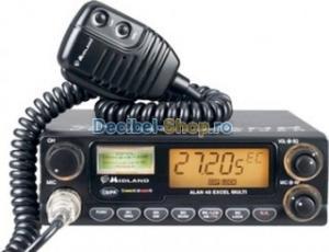 Statie radio Alan 48 Excel 12- 24V