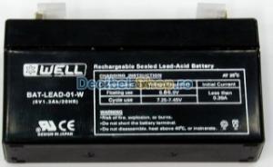 Acumulator plumb 6V 1,3Ah
