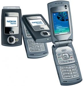 Nokia N71 Black Silver