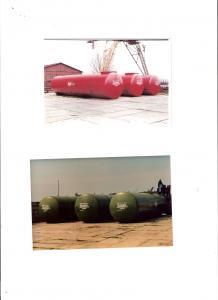 Rezervoare subterane metalice