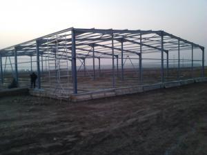 Structura metalica hala industriala