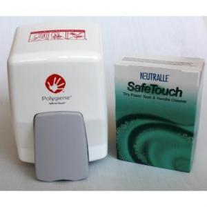 Dispenser solutie pentru igienizare colac WC