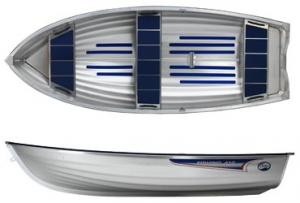 Barca din aluminiu