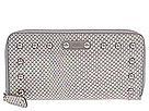 Portofele femei Rafe New York - Continental Zip Around Wallet - Silver