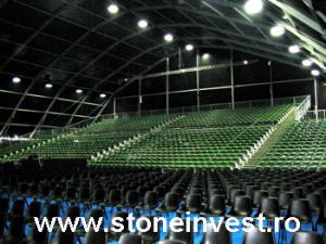 Tribune pentru stadioane, sali de sport, evenimente publice