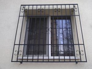 Grilaje metalice pt ferestre