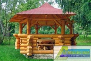 Foisor lemn pentru gradina