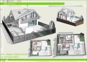 Desene proiecte case mici