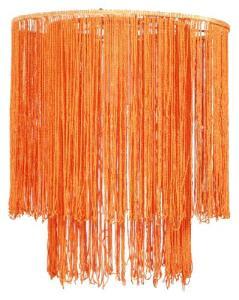 Pendul BRASIL  1X60W E27 Portocaliu textil