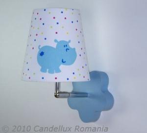 Aplica textil HIPPO 1x40W E14
