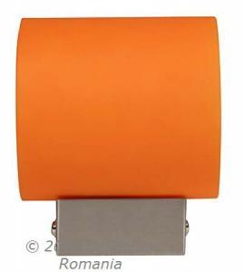 Aplica simonet 1x40w g9 portocalie