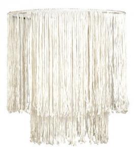 Pendul BRASIL  1X60W E27 Alb textil