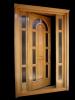 Usa lemn masiv stejar pentru exterior