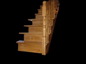 Scari interioare complete din lemn masiv