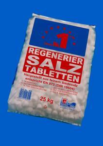 Sare tablete pentru dedurizare