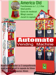 Automate bomboane si jucarii