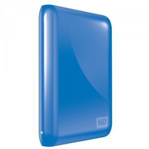 "HDD extern Western Digital My Passport Essential 3.0, 500 GB, USB 3.0, 2,5"", Albastru"