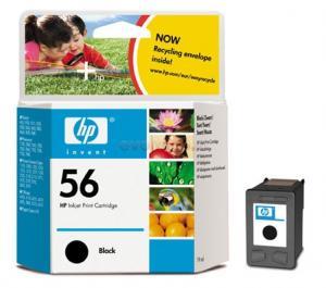 HP - Cartus cerneala 56 (Negru)