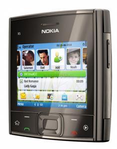 Telefon mobil x5 (black)