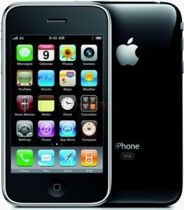 Apple - Telefon Mobil iPhone 3Gs, 16GB (Negru)