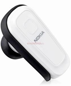 NOKIA - Cel mai mic pret! Casca Bluetooth BH-300 white (Box)-29621