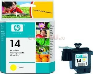 Cap printare hp 14 (galben)