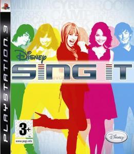 Disney: sing it (ps3)
