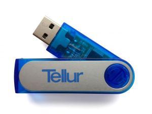 Tellur - Stick USB Tellur, 16GB (Albastru)