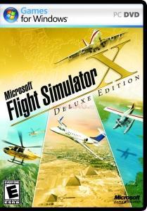 Flight simulator x deluxe (pc)