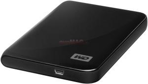Western Digital - HDD Extern My Passport Essential (New Edition), Midnight Black, 250GB, USB 2.0