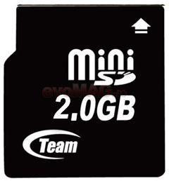 Team Group -  Card de memorie Mini SD 2GB + adaptor SD