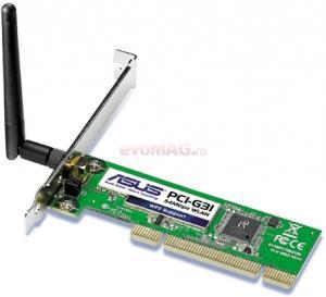 Placa retea wireless pci