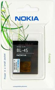 NOKIA - Acumulator NOKIA BL-4S Li-ion, 860mAh (Blister)