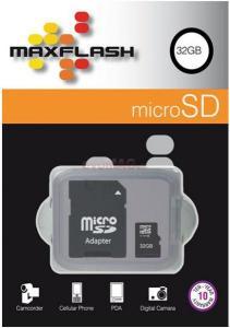 Card microsdhc 32gb + adaptor