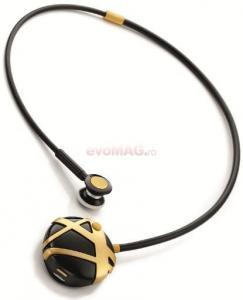 Novero -   Casca Bluetooth novero Colier Victoria - Stripes Gold