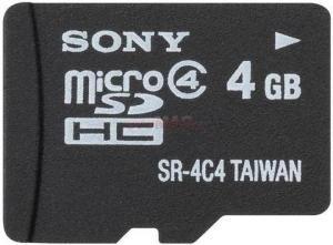 Card microsdhc 4gb + adaptor