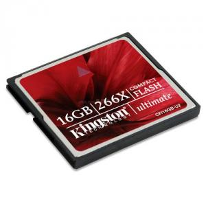 Kingston - Card Kingston Compact Flash 16GB