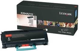 Lexmark toner 0x264a21g (negru)
