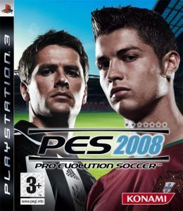 Pro evolution soccer 2008 (ps3)