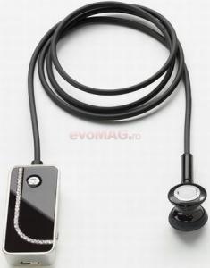 Novero - Casca Bluetooth novero Soho Crystal Arc (Neagra)