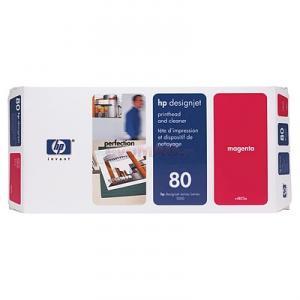 HP - Cap printare HP 80 (Magenta)