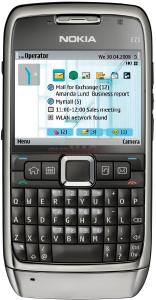 Nokia telefon mobil e71
