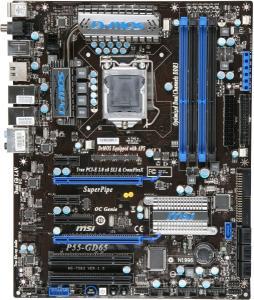 Placa de baza p55 gd65